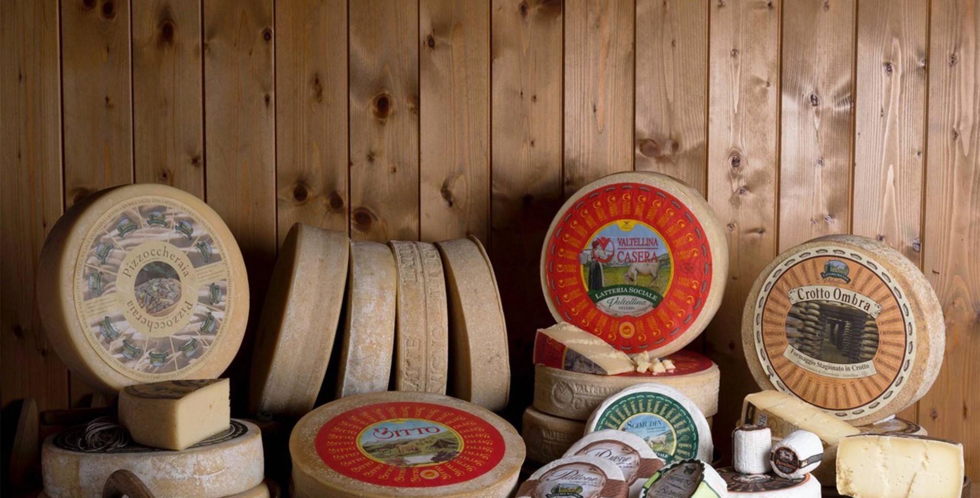 formaggi della latteria valtellina