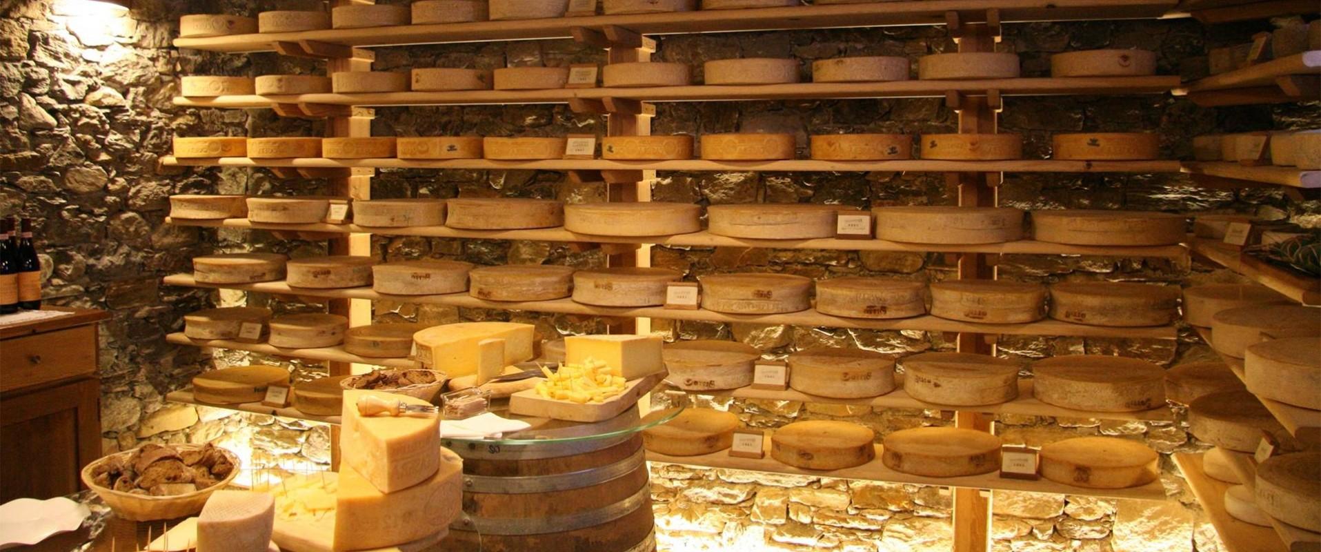 I formaggi della Latteria sociale di Delebio