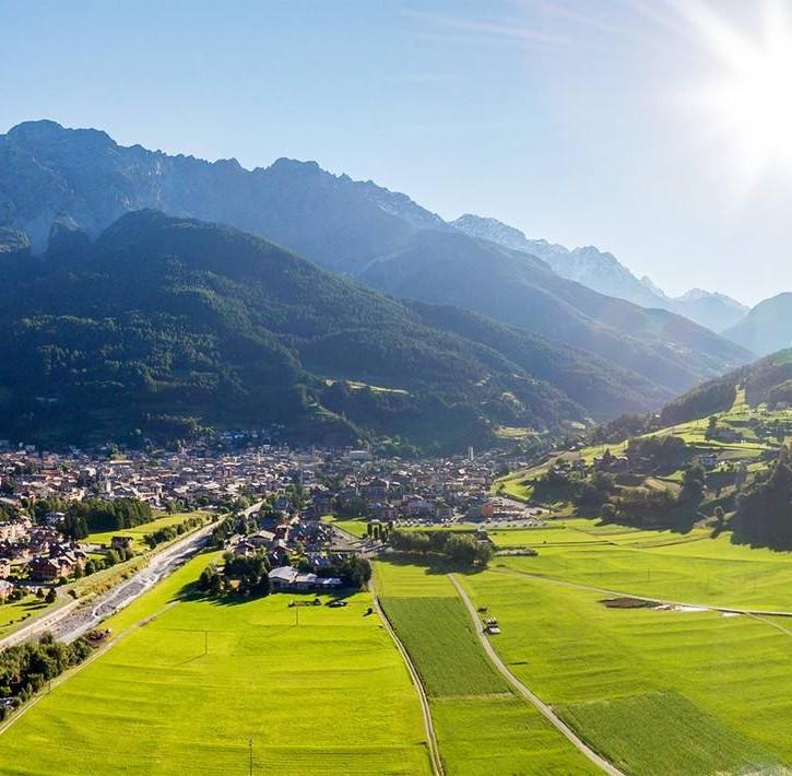 Il territorio nell'Alta Valtellina