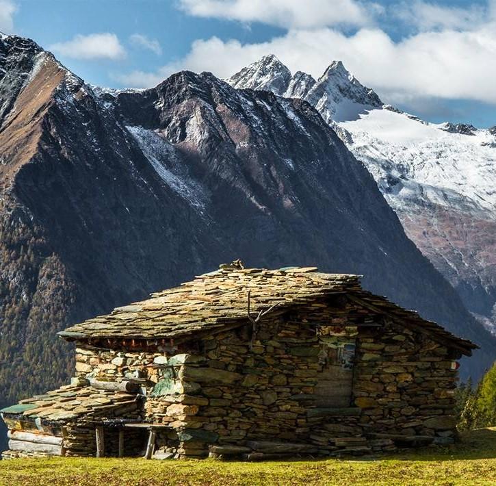 La Media Valtellina - le montagne rigogliose valtellinesi
