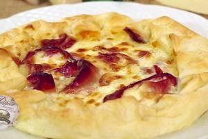Torta salata Speck e Piattone: Immagine