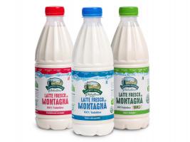 Latte puro di montagna